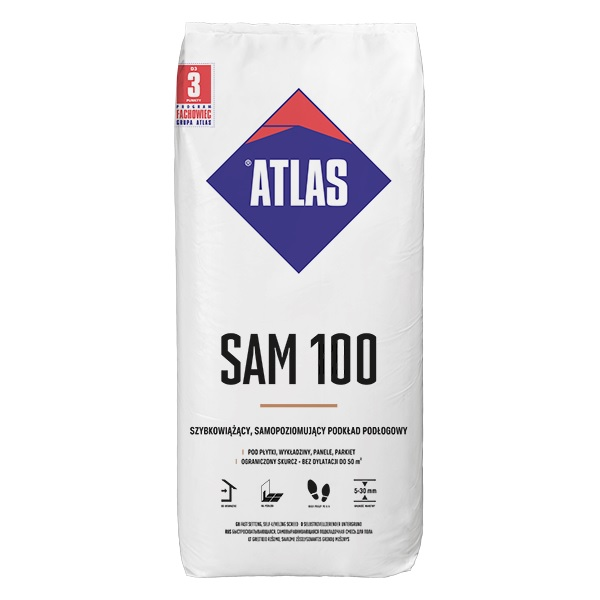 atlas sam100 gipsgebonden egaline